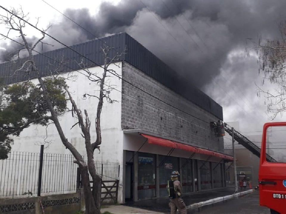Incendio en Casa Vila