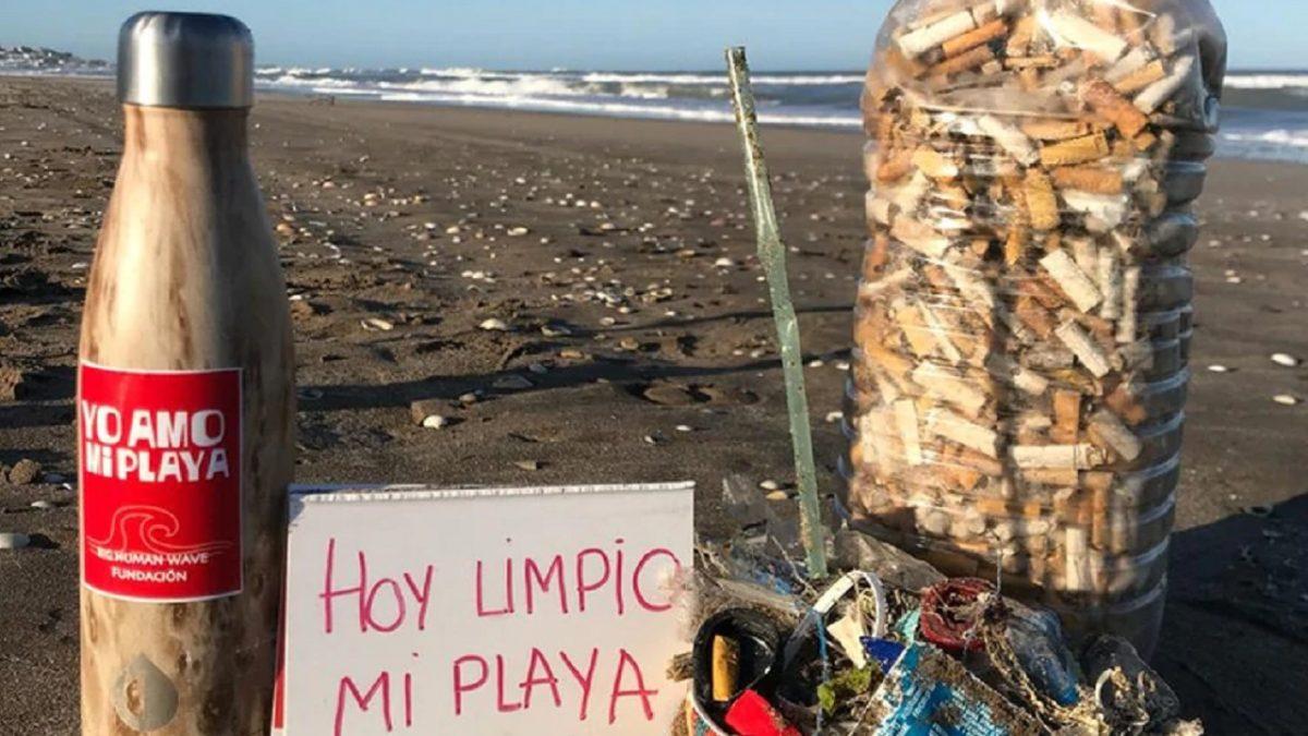 Aprobaron una Ordenanza que prohíbe fumar en las playas de Pinamar.